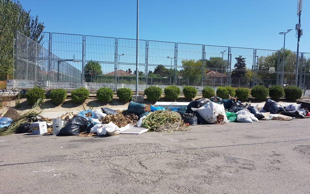 Objetivo: acabar con los 'puntos negros' de la limpieza en Rivas