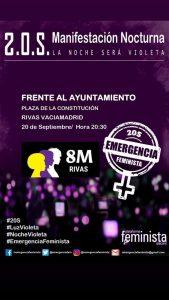 noche violeta rivas emergencia feminista