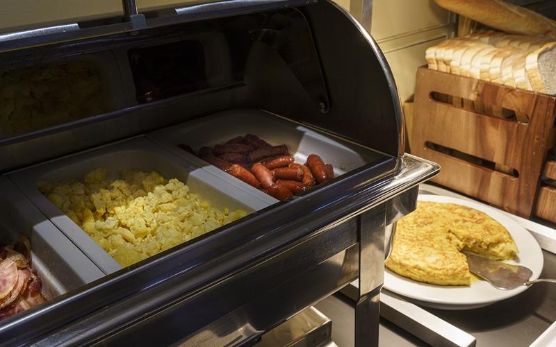 comida caliente desayunos hotel ab arganda