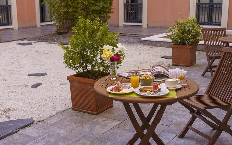 desayuno hotel ab arganda