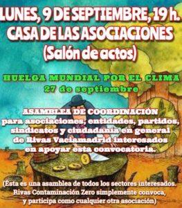 asamblea rivas huelga clima convocatoria