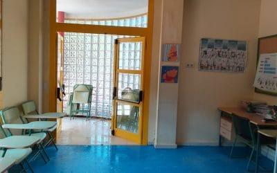 Goteras, humedades y aulas encharcadas por las fuertes lluvias en el colegio José Saramago de Rivas
