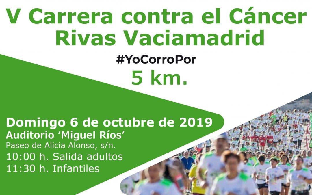 Abierta la inscripción para la Carrera Contra el Cáncer de Rivas, que se celebra el 6 de octubre