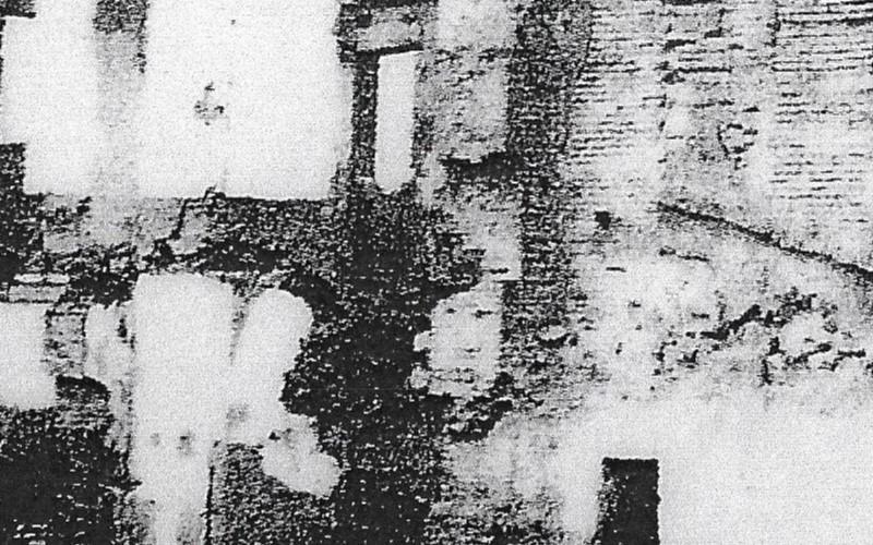 Ruinas del antiguo ayuntamiento de Rivas Vaciamadrid