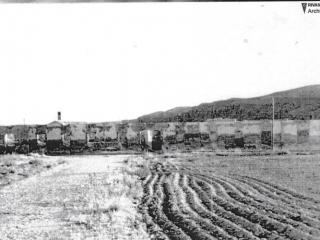 Ruinas del parador destruido por la Guerra Civil rivas vaciamadrid