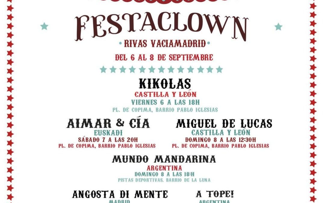'Festaclown': los payasos solidarios vuelven a Rivas