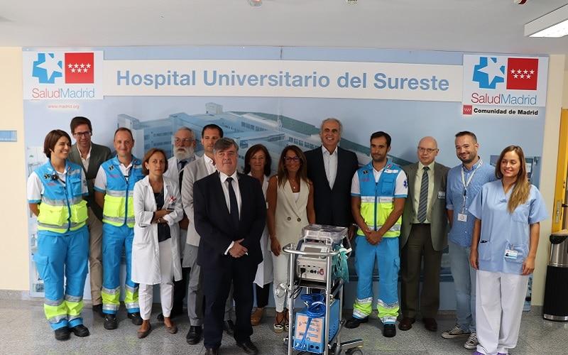 El hospital de Arganda lleva a cabo su primera donación de órganos para trasplante