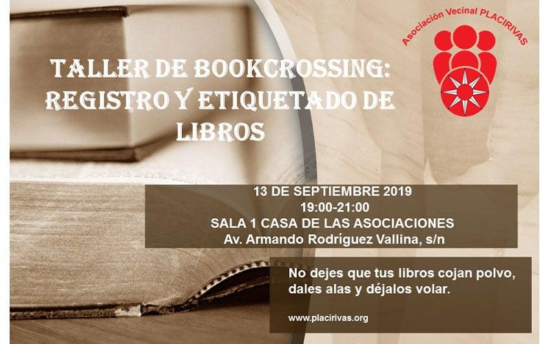 Taller de bookcrossing: Registro y etiquetado de libros