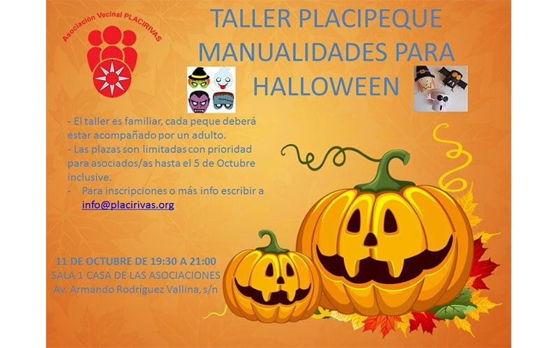 Taller manuelaidades halloween
