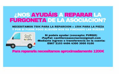 Cantileros pide ayuda para arreglar su furgoneta