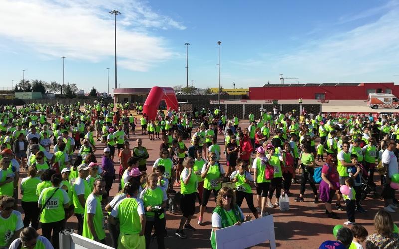 Unas 2.200 personas corren contra el cáncer en Rivas