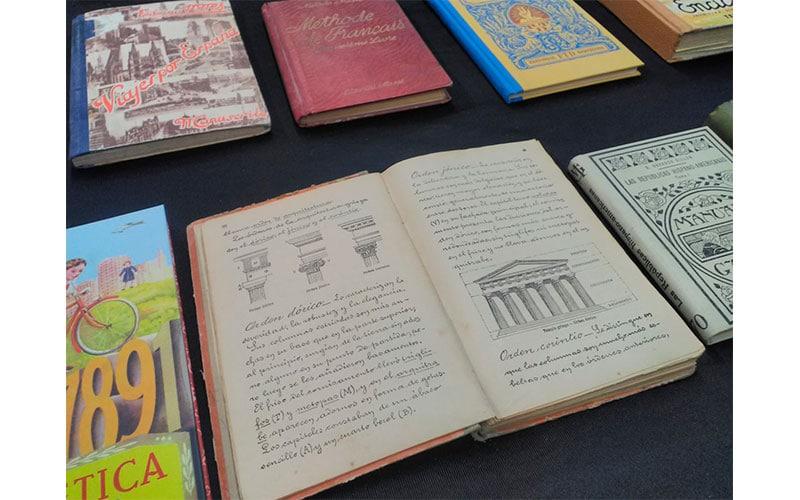 Exposición sobre libros antiguos