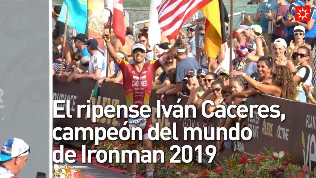 iván cáceres, ironman 2019, campeón del mundo