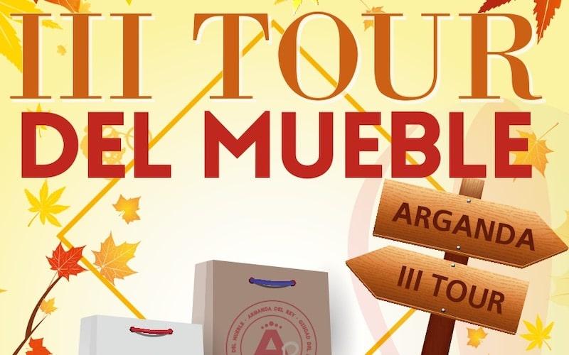 Llega el III Tour del Mueble de Arganda: diez días de ofertas increíbles en mobiliario y decoración