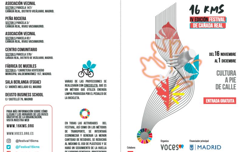 Arranca el Festival 16 Kilómetros 2019 con cine y actividades en la Cañada Real