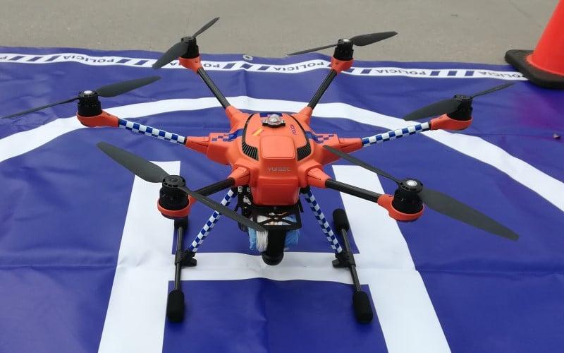 Dron de la Policía Local de Rivas Vaciamadrid