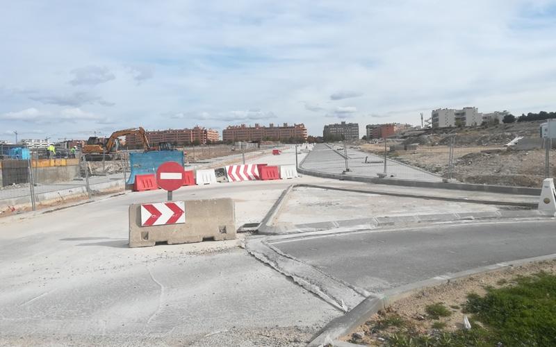 La calle Lolo Rico, antes de su apertura