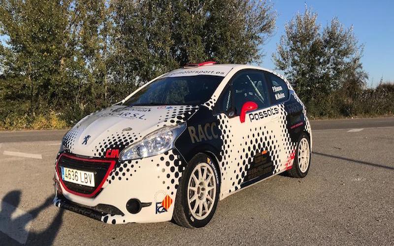Rally Comunidad de Madrid Peugeot Josep Bassas