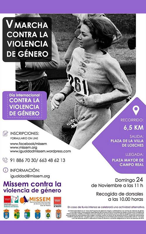 V Marcha Popular Contra la Violencia de Género
