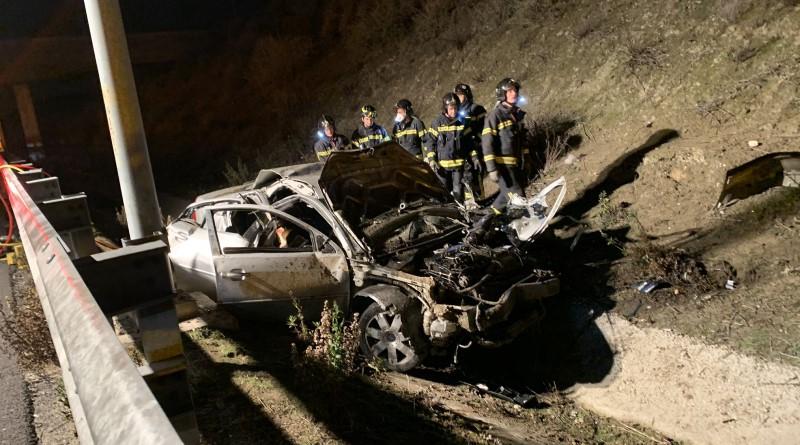 Mueren tres jóvenes y otro resulta herido en un accidente de tráfico en la M-50