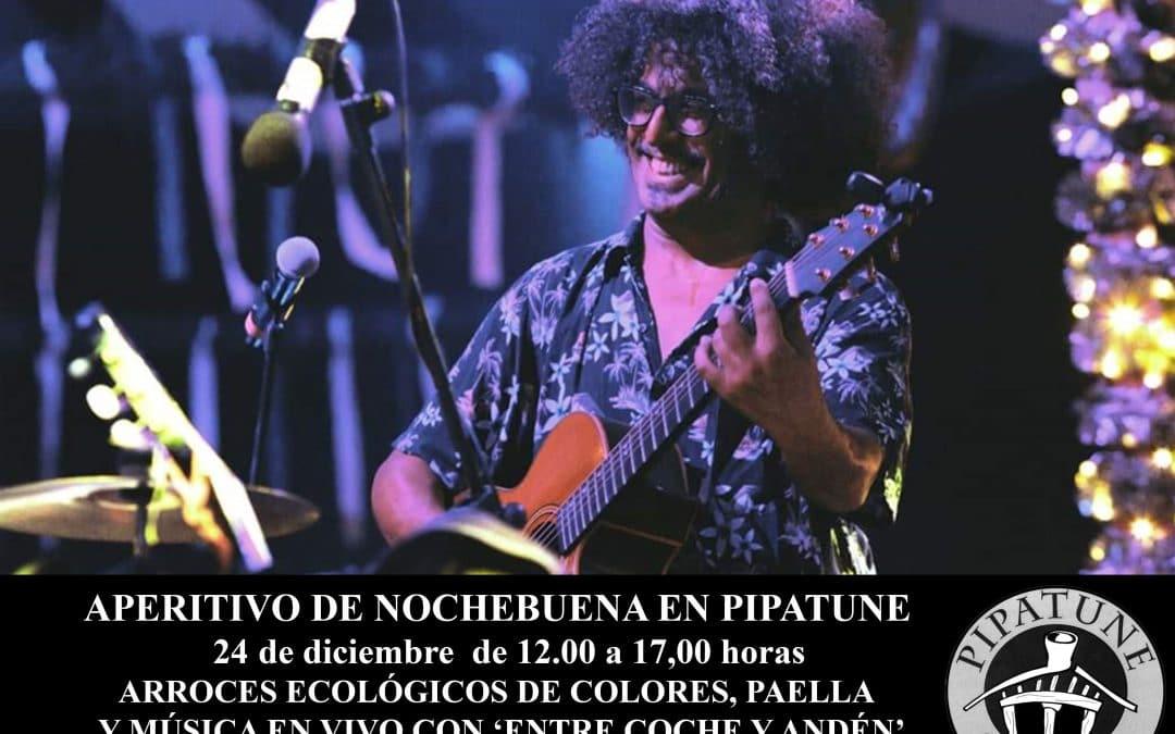 Caserío Pipatune celebrará el aperitivo de Nochebuena con arroces ecológicos y música en directo