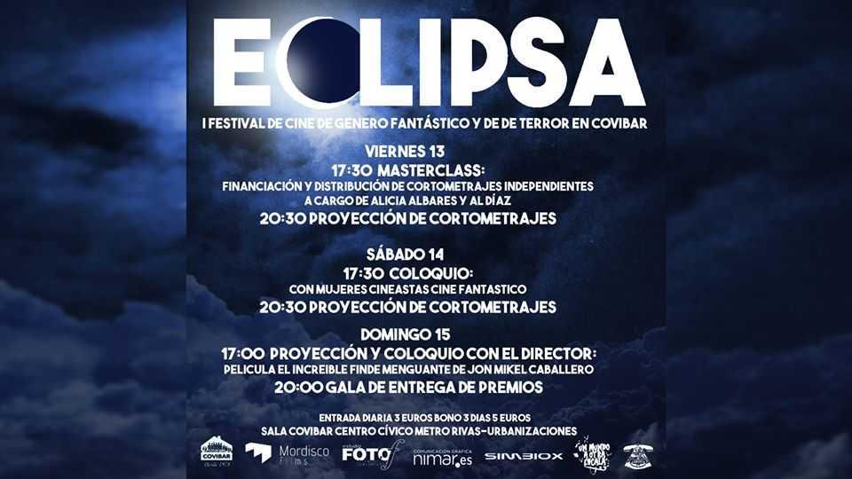 Eclipsa: festival de cine fantástico y de terror, en Covibar