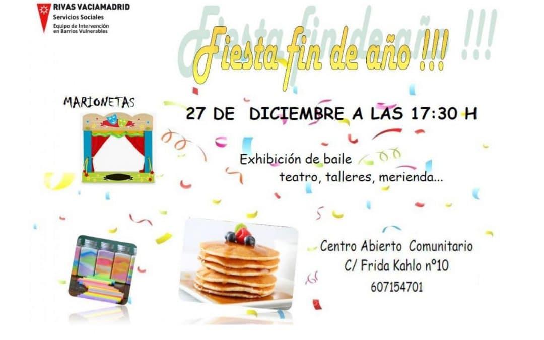 Fiesta de Fin de Año en el Centro Abierto Comunitario Los Ámbitos (Rivas)