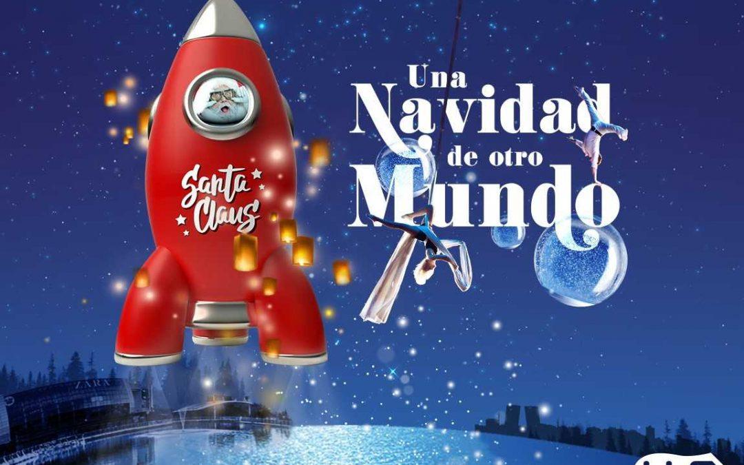 Una 'Noche Galáctica' inaugura la 'Navidad de otro mundo' en el H2O