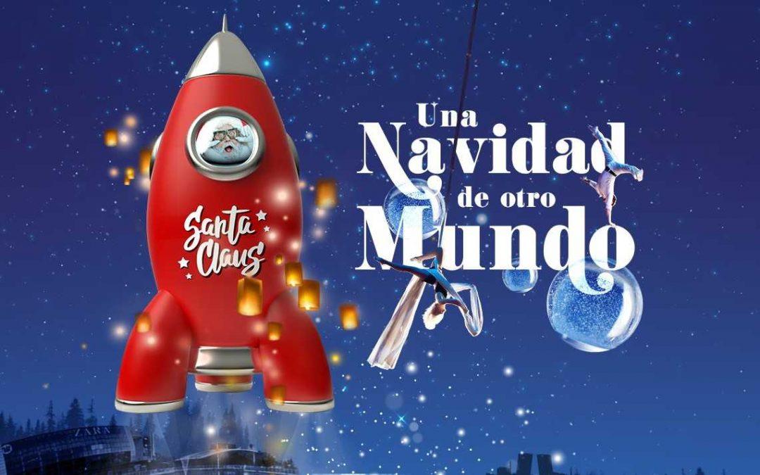H2O inaugura este viernes su 'Navidad de otro mundo' con una 'Noche Galáctica'
