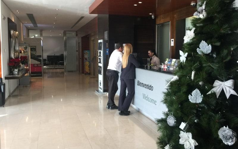 Hotel AB Rivas en Navidad