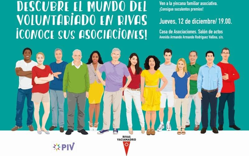 Jornada sobre voluntariado en Rivas 2019