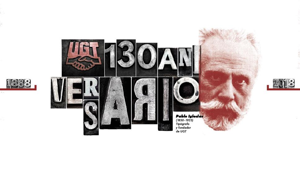 Exposición 130 años de luchas y conquistas UGT