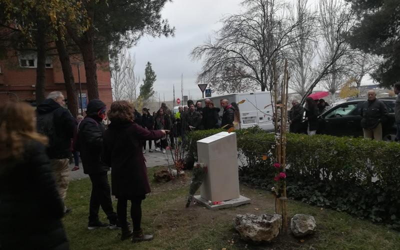 Homenaje a 'Rober' y a Víctor, víctima del 'kamikaze' de la M-50, en Rivas