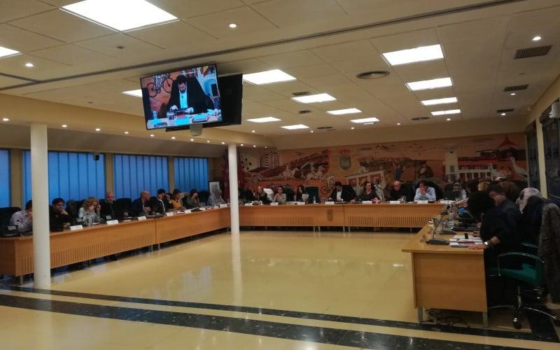 Pleno de presupuestos de Rivas Vaciamadrid del 4 de diciembre de 2019