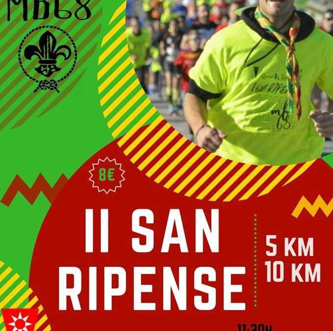 San Ripense 2019: una carrera para despedir el año