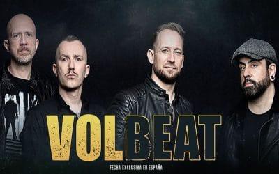 Los daneses Volbeat lideran el cartel del festival de rock y 'heavy metal' Rock the Night, que se celebrará en Rivas