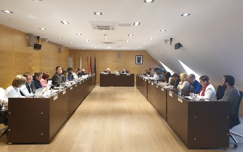 Pleno de la Corporación municipal (foto: Ayuntamiento de Arganda del Rey)