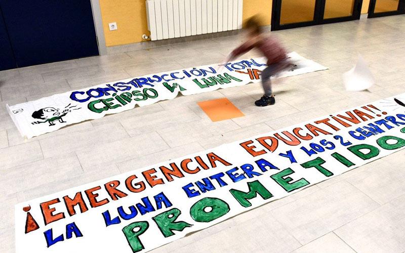 La Plataforma Emergencia Educativa de Rivas considera «inaceptable» la ampliación del IES Julio Pérez
