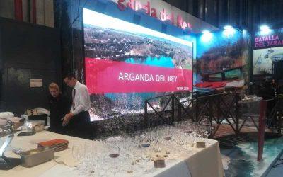 Arganda despliega sus encantos en Fitur
