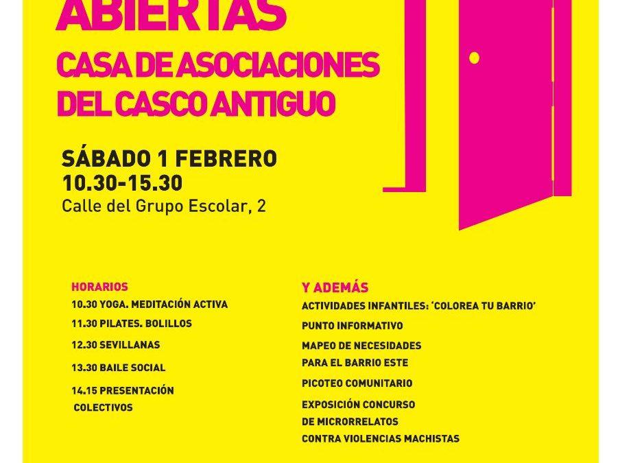Jornada de puertas abiertas en la Casa de Asociaciones del Casco Antiguo de Rivas