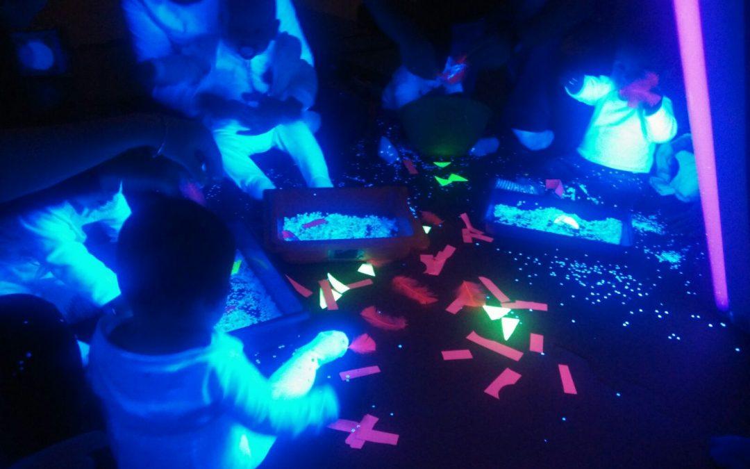 Luz, lúcete en la oscuridad: de 2 a 5 años