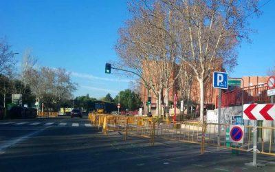 Obras en Covibar: esta semana, estrechamientos en la calzada de la avenida de Armando Rodríguez Vallina