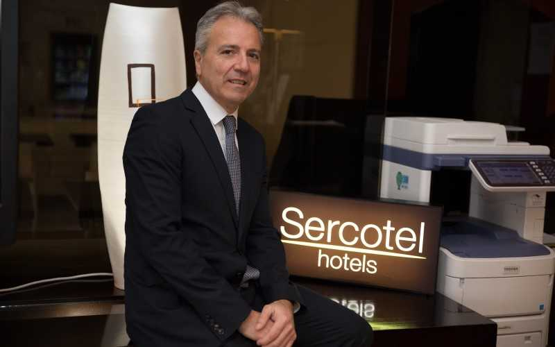 Paul García, director de los Hoteles Sercotel AB Rivas y AB Arganda