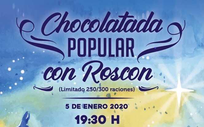 Chocolatada y roscón en el Casco Urbano de Rivas