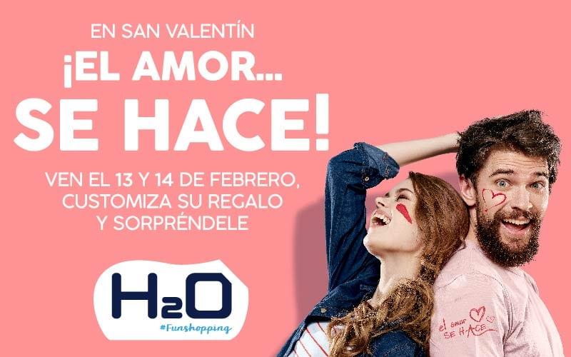 En San Valentín, el amor se hace en H2O