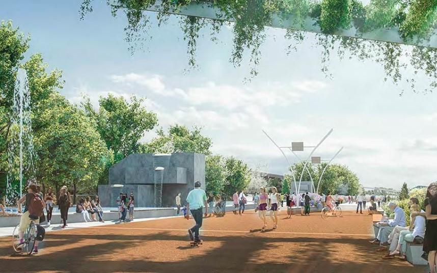 Ideas para cubrir las vías del Metro en Rivas: ¿cuál es tu propuesta favorita?
