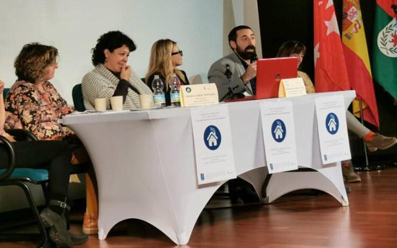 La EMV presenta su proyecto 'Cohabita Rivas' en la I Jornada Internacional de Justicia Social