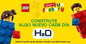 Lego Fun Factory, ¡tu espacio lúdico en H2O!