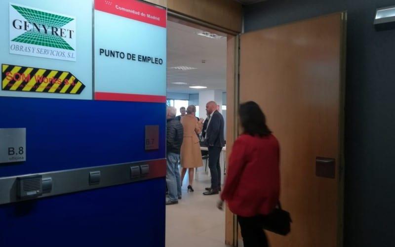 Inauguración de la nueva oficina de empleo de Rivas