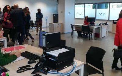 Abre la nueva 'oficina' de empleo para trámites rápidos en Rivas